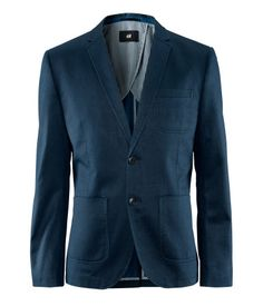 Cotton Twill Blazer, great for fall
