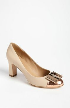 Salvatore Ferragamo 'Soleada' Pump available at #Nordstrom