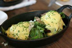 Eggs Benedict at M.B. Post (Los Angeles, CA). #UniqueEats #eggs #breakfast