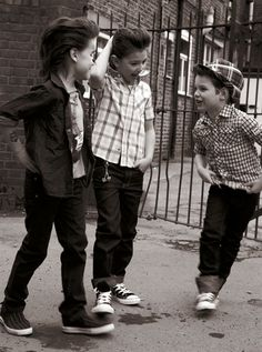How cute! Retro little boy outfits!!!!!!!!!!!!!!!!!!!!  Rockabilly fashion for kids.