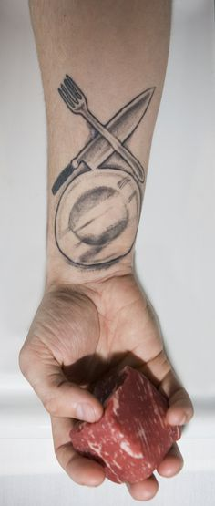 Kitchen Ink: A Photo Essay that Pairs Chefs With Tattoos - Phoenix New Times