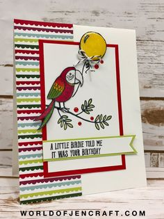 Stampin' Up! Bird Ba