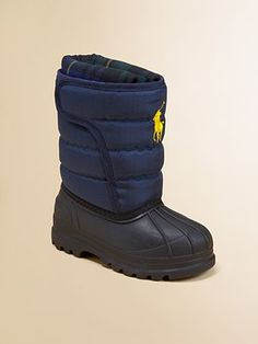 Ralph Lauren Toddler's & Little Boy's Vancouver Crest EZ Snow Boots