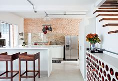 Cozinha tijolo