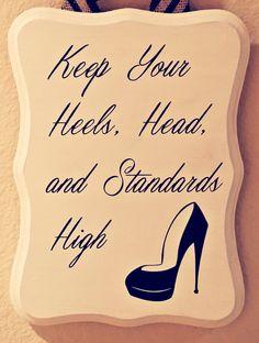 high standards quotes, inspir