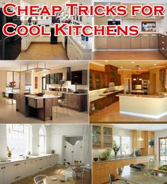 Cheap Kitchen Remodeling Ideas- Remodeling a kitchen does not have to are more expensive than a mortgage. There area few simple stuff that every homeowner can do to renew their kitchen and save money on their remodeling budget.