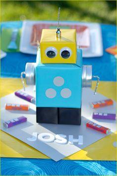 Robot Table Topper.