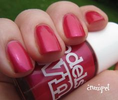 The Crumpet: Brit Nails - Models Own Blooming Pink