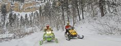 3 Great Tips On How To Enjoy Black Hills Snowmobiling. You can't go wrong at the Black Hills where there are about 350 miles of trails specifically reserved for snowmobiling. It may be hard to choose which locations you most like to visit during your stay.. http://www.snowmobilerentalsadvice.com/3-great-tips-on-how-to-enjoy-black-hills-snowmobiling/