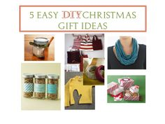 Great Christmas gift ideas I am making.... 4 weeks & counting - better get crafting!