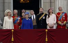 Royal Family Trooping Colour
