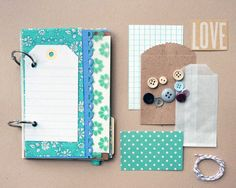 Lovely Days Mixed Paper Journal. $12.00, via Etsy.