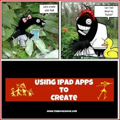 Using iPads to Create: http://teachmama.com/using-ipad-apps-create/#_a5y_p=1265690