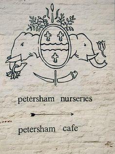 Shopper's Diary: Petersham Nurseries in Richmond, UK : Remodelista