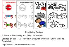 I have added Fire Safety posters to 1 - 2 - 3 Learn Curriculum - under the Fire Safety link... To learn more on how to become a member of 1 - 2 - 3 Learn Curriculum for only $30.00 a year or access free downloads, please click on the picture. :) Jean 1 - 2 - 3 Learn Curriculum