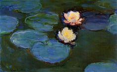 Water Lilies, 1897 ~ Claude Monet