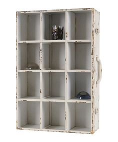 Take a look at this White Vintage Cabinet by Wilco on #zulily today!