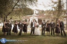 Congrats to Rachel & Will!!  Photo courtesy of Anthony Ziccardi Studios