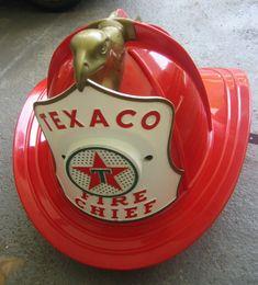 Texaco Fire Chief helmet...I still have mine!!