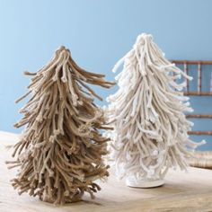 Twisted Burlap Trees | Ballard Designs