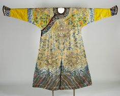 Imperial Robe with Dragon Decor, late 19th century, Harvard Art Museums/Arthur M. Sackler Museum.