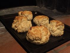 Scones from the wood-fired oven