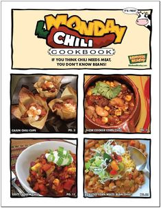 """As #MeatlessMonday founder Sid Lerner says, """"If you think chili needs meat, you don't know beans!"""" Get 10 tasty #MondayChili recipes in our free e-cookbook."""