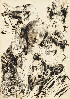 tiepolo sketch