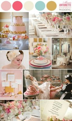 A MARIE ANTOINETTE INSPIRED party