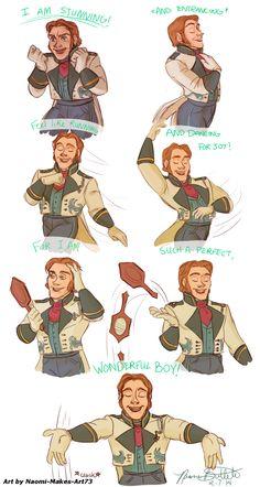 Frozen Hans <3