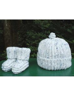Crochet - Simply Single Crochet Cap and Booties - #REC0814