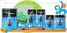 pool performers - Scrapbook.com
