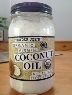 Coconut Oil Hair Treatment. Trader Joe's has the best price, too! 1 pint for $6