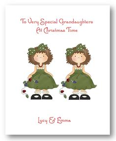 christma card, card 250, greet card, scallop edg, handmad christma