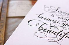 Type by Bespoke Letterpress Boutique