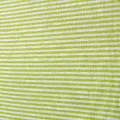 Tissu Jersey MINI rayures anis blanc    1,50 € TTC
