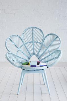 Swoon. Love Chair Pastel Blue. #kids #decor