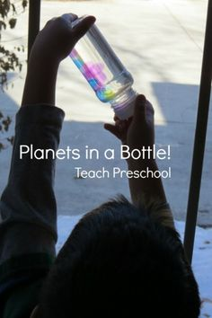 Planets in a bottle