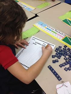 Daily 5 and CAFE   Work on Words - kids currently have 7 choices for word activities.         Scrabble Spelling      Magnet Words      Type-it      Stamp-it      Game Boards      Boggle      Shake It Up!