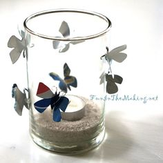 Designer MacGyver: 6 Adorable Soda Can Crafts (http://blog.hgtv.com/design/2013/11/11/aluminum-soda-can-crafts/?soc=pinterest)