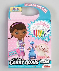 Take a look at this Disney Doc McStuffins Activity Set by Doc McStuffins on #zulily today!