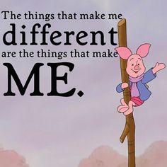 A little wisdom from our little friend Piglet
