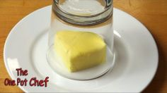 Soften Butter To Room Temperature in Seconds With A Warm Glass