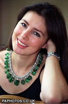 Merle Oberon's Legendary Emerald & Diamond Necklace by Cartier sold for 2.1 million 1996