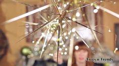 Beautiful Star Burst Christmas Ornaments