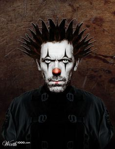 Evil Celebrity Clowns - Worth1000 Contests
