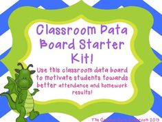 Classroom Data Board Starter Kit! **Great for Leader in Me!**