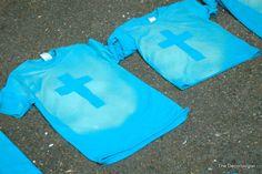 camp, bible school shirts, tee shirts, church shirts, cross tshirt, cross tye dye