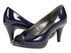 Bandolino-Mylah 5 (Navy Patent) Women's Heels