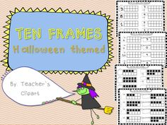 {FREE} These sheets will help your student work numbers 1-10 in ten frames. Includes 4 pages, 2 to fill the ten frames of the number given and 2 to write the number of the filled frames.